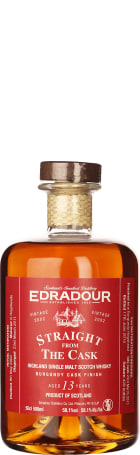 Edradour 13 years Burgundy Cask Straight from the Cask 50cl