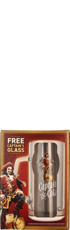 Captain Morgan Captain & Cola Glas 33cl
