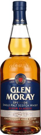 Glen Moray Elgin Classic Chardonnay Cask Finish 70cl