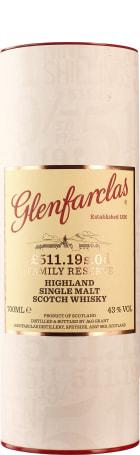 Glenfarclas £511.19S.OD Family Reserve 70cl
