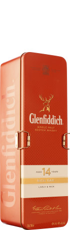 Glenfiddich 14 years Rich Oak Giftset 70cl