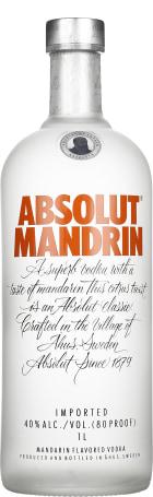 Absolut Mandrin 1ltr