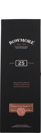 Bowmore 25 years Single Malt 70cl