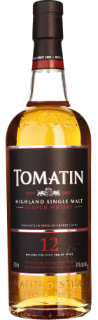 Tomatin 12 years Single Malt 70cl