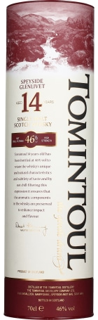 Tomintoul 14 years Single Malt 70cl