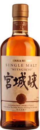 Nikka Miyagikyo 12 years Single Malt 70cl