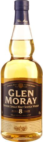 Glen Moray 8 years Single Malt 70cl