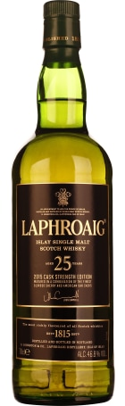 Laphroaig 25 years Single Malt 2015 Release 70cl