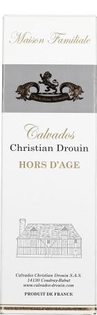 Christian Drouin Hors d'Auge Pays d'Auge 70cl