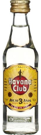 Havana Club Anejo 3anos miniaturen 20x5cl
