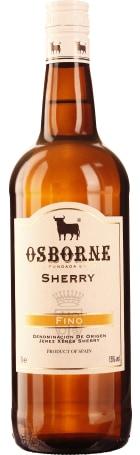 Osborne Sherry Pale Dry Fino 1ltr