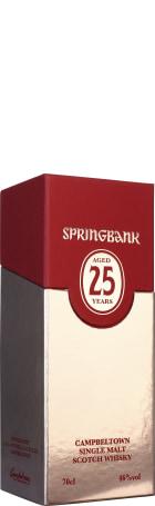 Springbank 25 years Single Malt 70cl