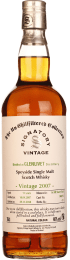 Signatory Glenlivet 11 years 2007 Un-Chillfiltered 70cl