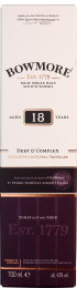 Bowmore 18 years Single Malt Deep & Complex 70cl