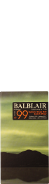 Balblair Vintage 1999 3rd Release Single Malt 70cl