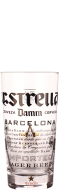 Estrella Damm glas