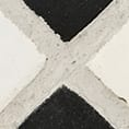 Black and White Colour Cement Tile