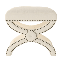 Portobello Foot Stool Ottoman Side Table