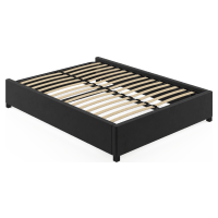 Queen Size Upholstered Standard Bed Base