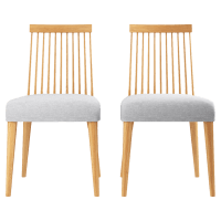 Elizabeth 2x Windsor Spindle Back Chair