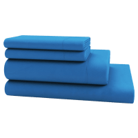 Brosa Essentials Cotton Rich Bed Linen French Blue