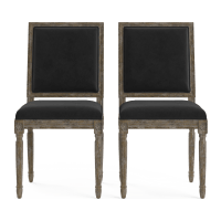 Petite Fleur Set of 2 Dining Chairs