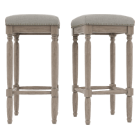 Clovis Set of 2 Bar Stools High