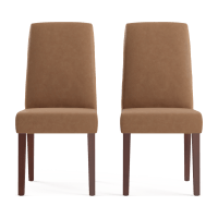 Grace Leather Set of 2 Dining Chairs