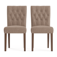 Espen® Leather Set of 2 Dining Chairs