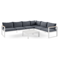 Malibu 6 Seater Outdoor Modular Sofa Set