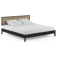 Caledonia Rattan King Size Bed Frame