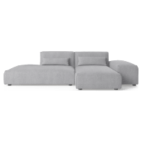 Drake 3 Seater Modular Sofa with Chaise and Ottoman