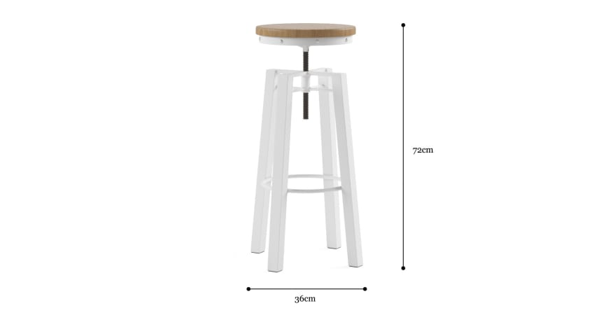 Sonoran Adjustable Bar Stool