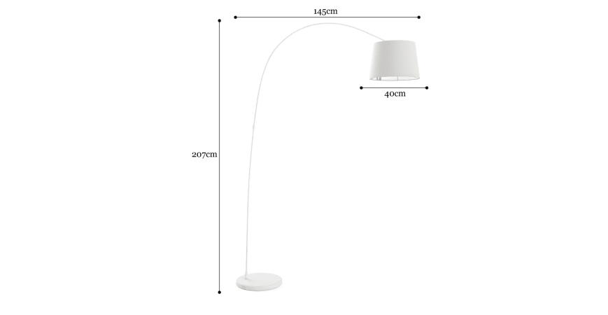 Leo Arc Floor Lamp