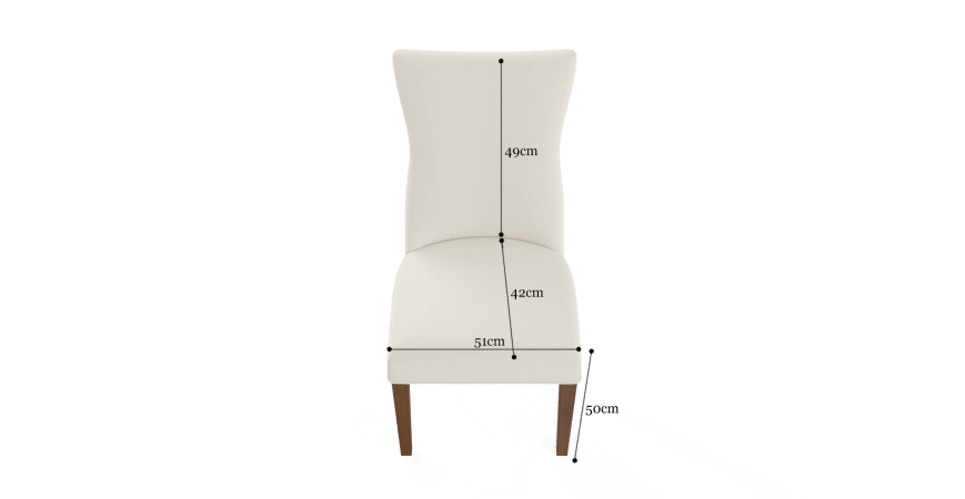 Zoe Set of 2 Dining Chairs