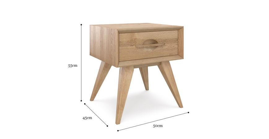 Hans Bedside Table