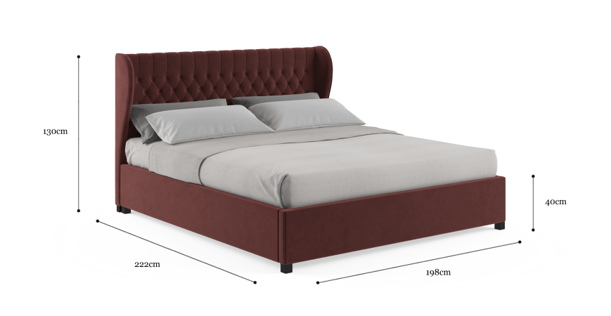 Anica King Gaslift Bed Frame