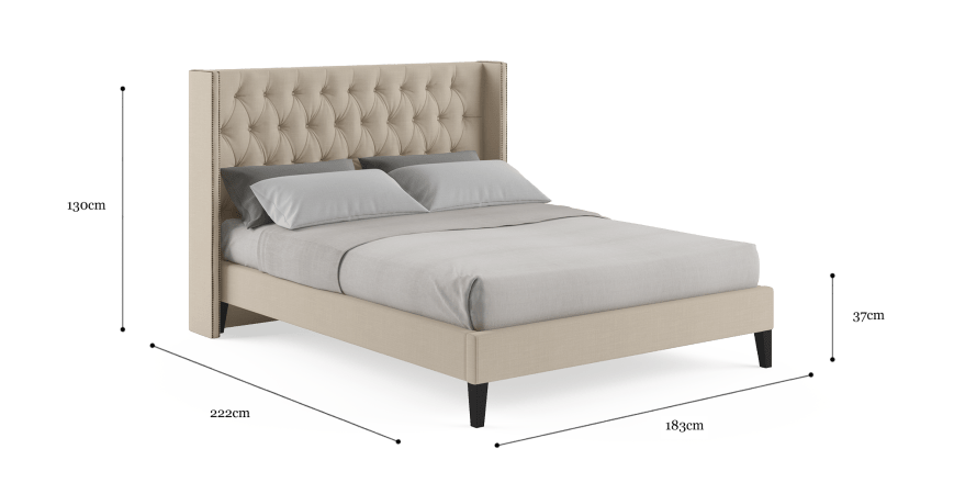 Stella Queen Slim Bed Frame
