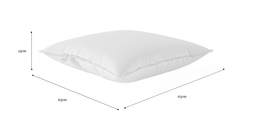 Lux Duck Down and Feather Pillow