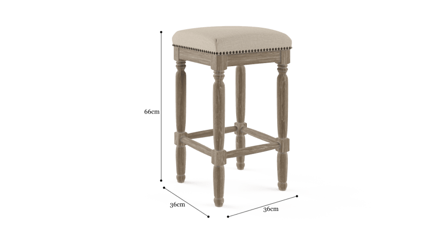 Clovis Bar Stool Low