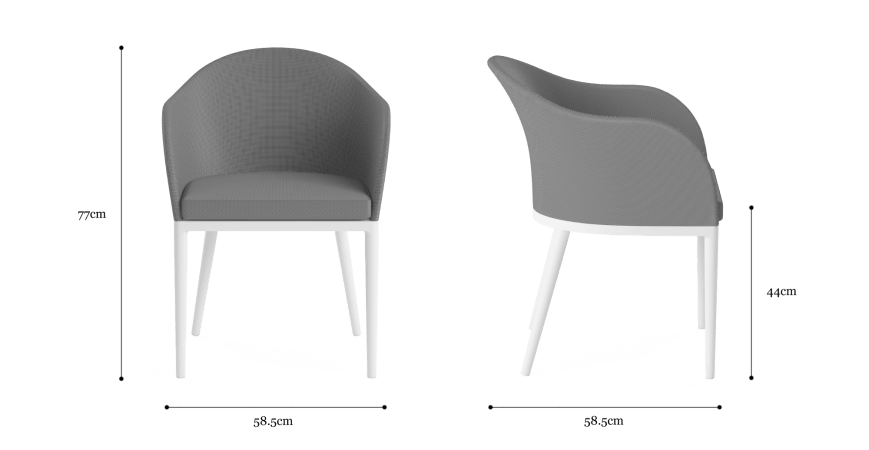 Matheson Outdoor Dining Chair Set of 2