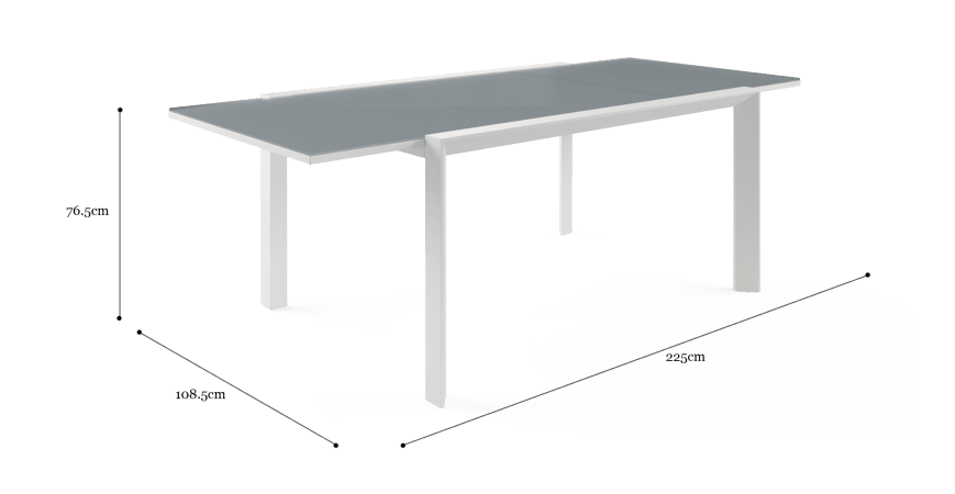 Malibu Outdoor Extendable Dining Table