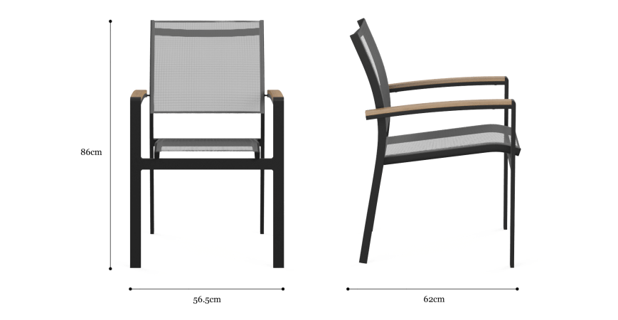 Ipanema Outdoor Dining Chair Set of 6