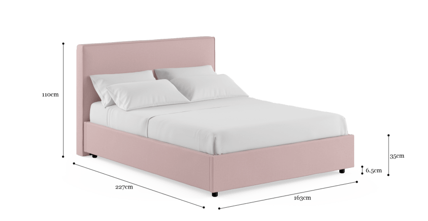 Jodie Queen Standard Bed Frame