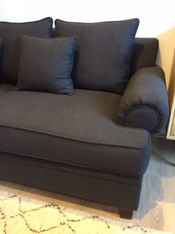 Mila 3 seater sofa night black 02