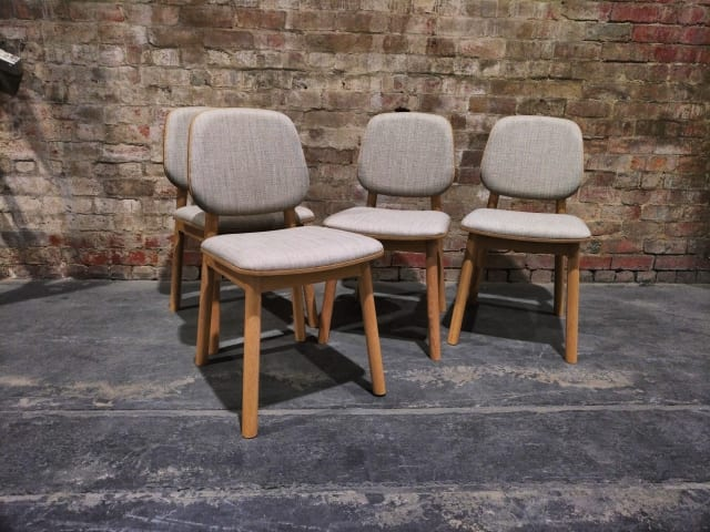 Matsumura dining chair with cushion 03