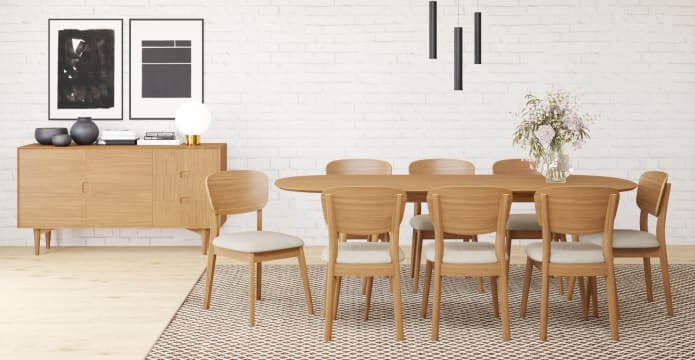 Mia Extendable Dining Table 175/215cm