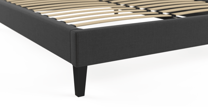 Queen Size Upholstered Slimline Bed Base