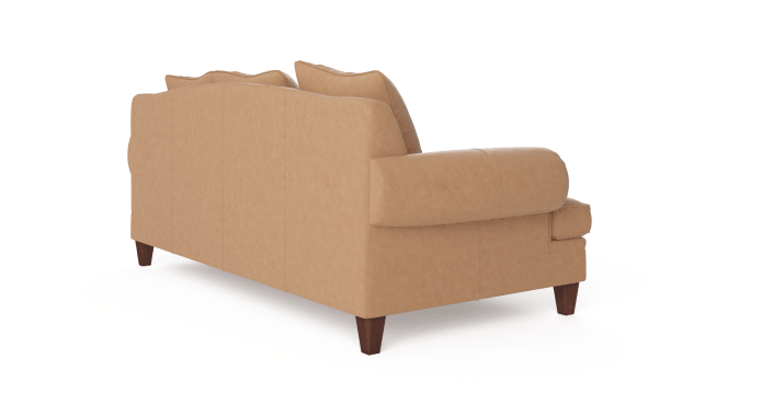 Mila Leather 3 Seater Sofa