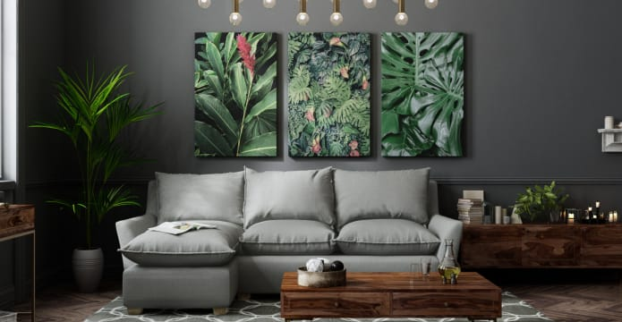 The Jungle Triptych Set of 3